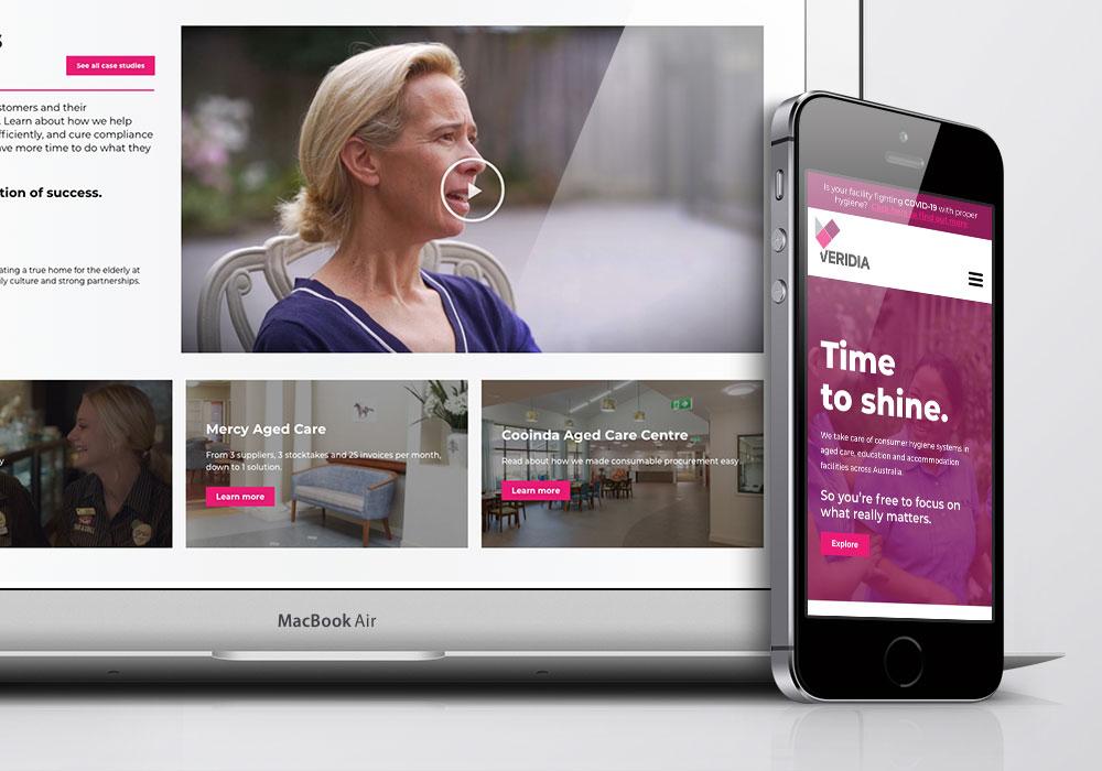 Veridia Website Design Development