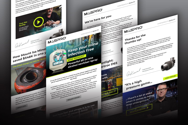 Maspro Engineering Email Marketing