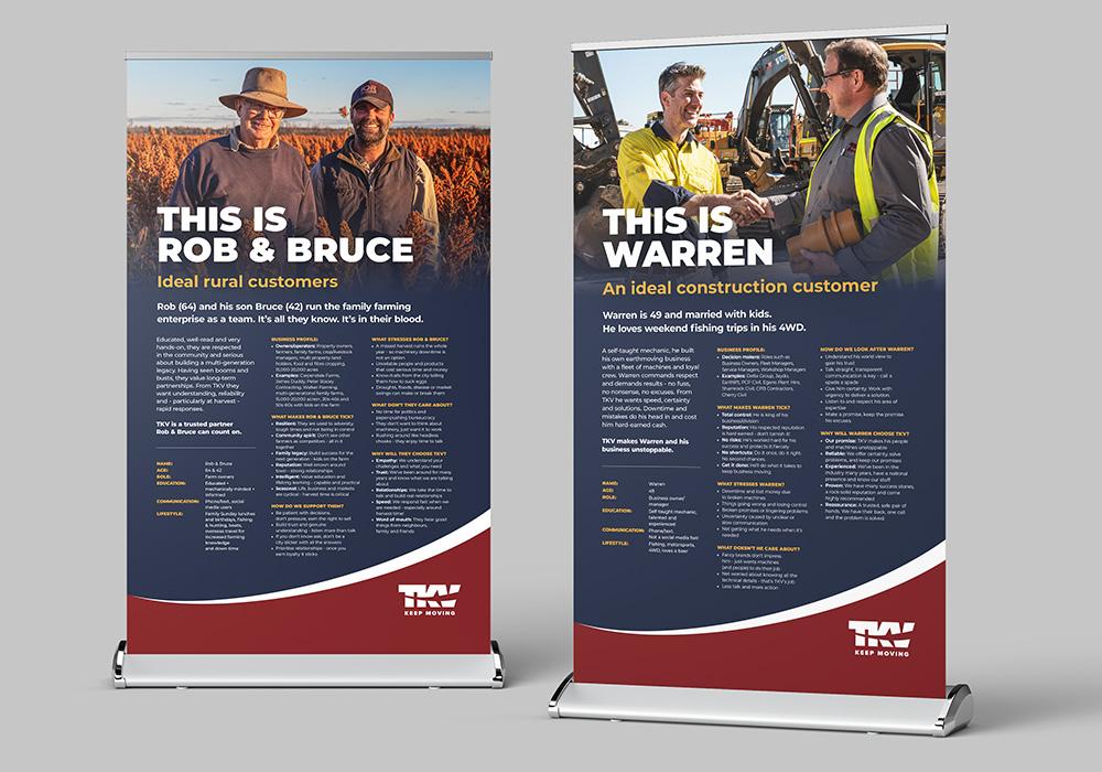 TKV Pull-up Banner Design
