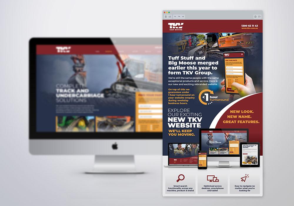 TKV Email Marketing Design
