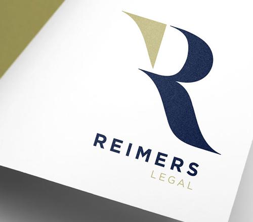 Reimers Legal Logo Design Branding Stationary