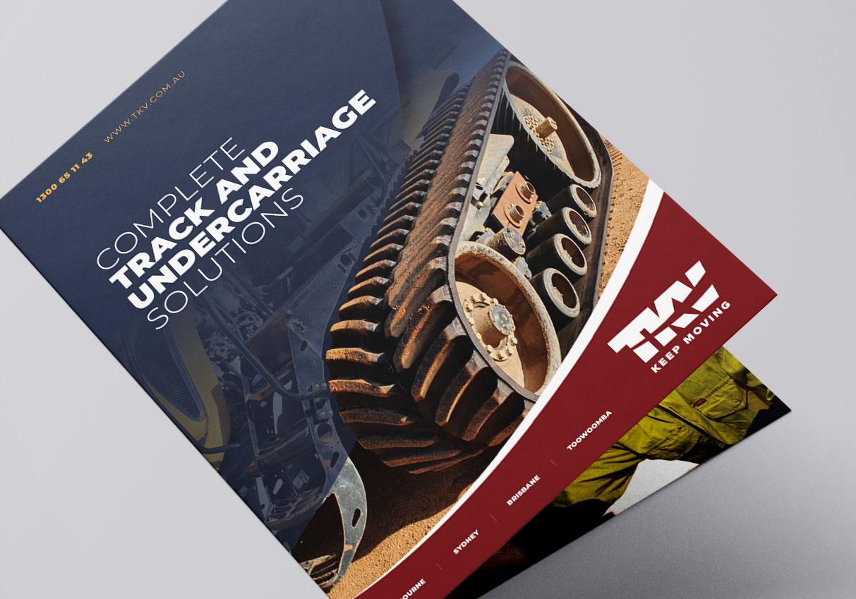 TKV Corporate Industry Brochure Design