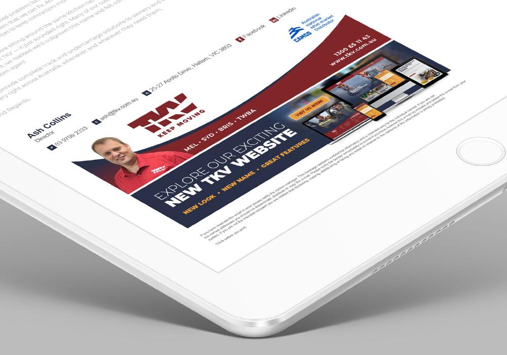TKV Branding Email Signature Design
