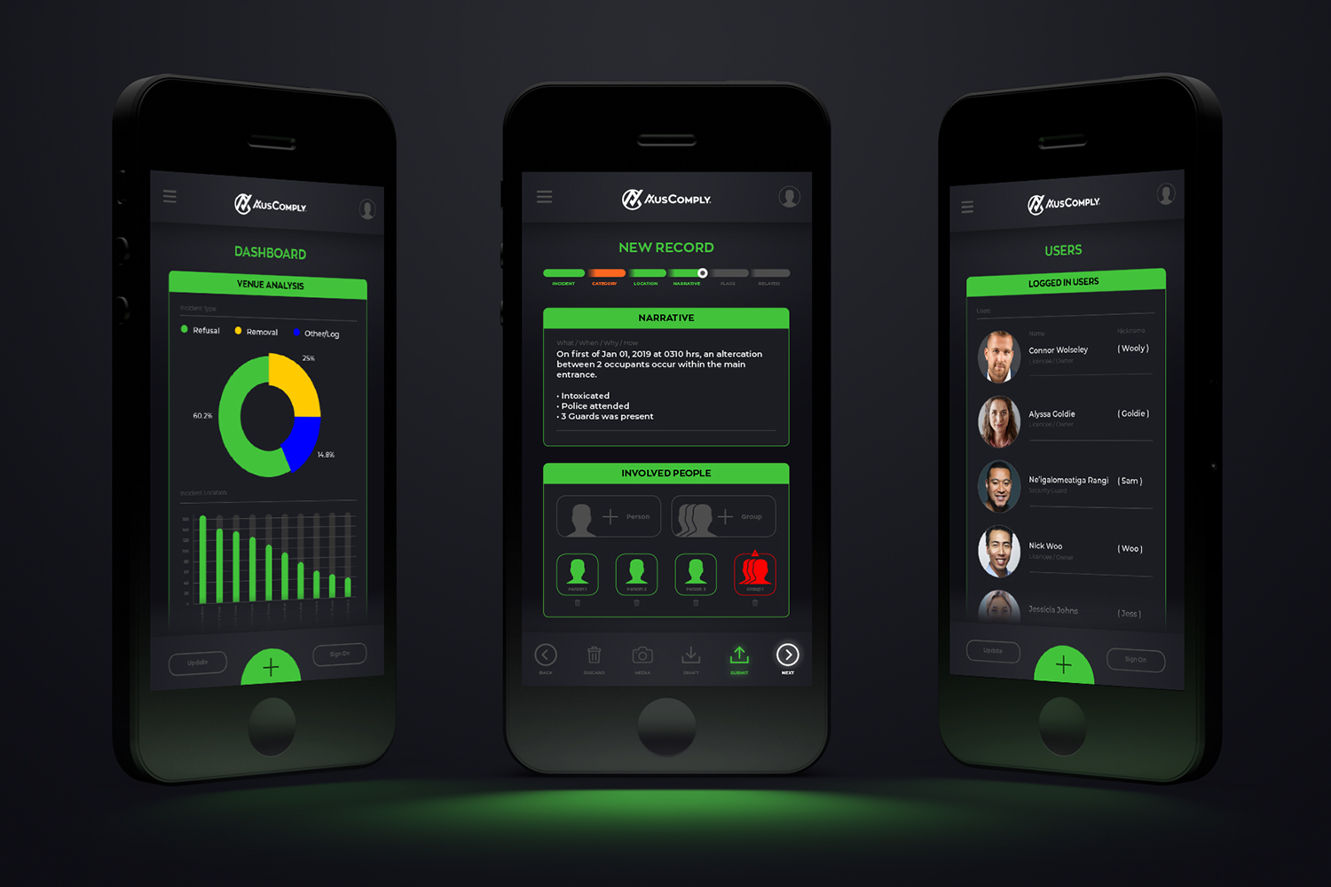 Auscomply Mobile App UI UX Design
