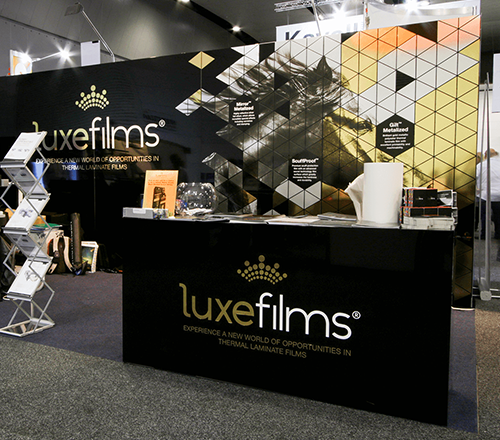 LuxeFilms Tradeshow Booth Design & Construction